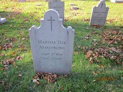 Martha <i>Dix</i> Armstrong