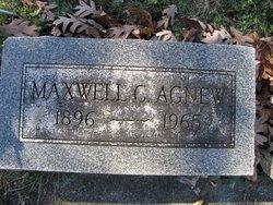 Maxwell C Agnew