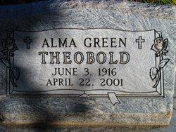 Alma <i>Green</i> Theobold