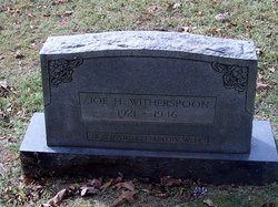 Joe H Witherspoon