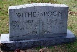 Jesse Albert Alb Witherspoon