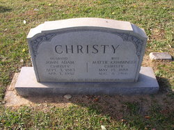 Mattie <i>Krimminger</i> Christy