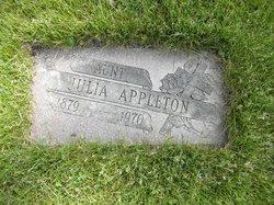 Julia <i>Coughlin</i> Appleton