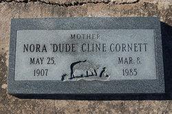 Nora Irene Dude <i>Goswick</i> Cline-Cornett
