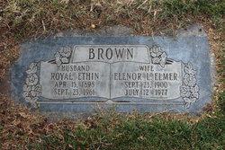 Elenor L <i>Elmer</i> Brown