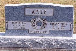 Thelma Viola <i>Owens</i> Apple