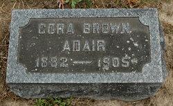 Cora <i>Brown</i> Adair
