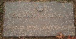Kathryn G Austin