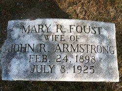 Mary Robbins <i>Foust</i> Armstrong