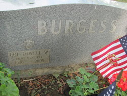 Col Lowell Wesley Burgess