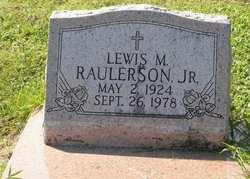 Lewis M. Raulerson, Jr