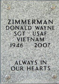 Donald Wayne Zimmerman