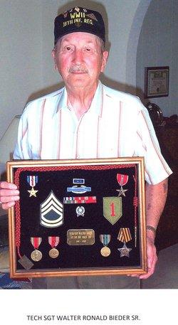 Sgt Walter Ronald Bieder, Sr