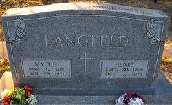 PFC Henry D. Langfeld