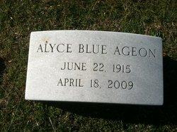 Alyce <i>Blue</i> Ageon