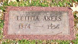 Letitia <i>Wininger</i> Akers