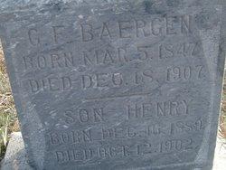 Gerhard F George Baergen