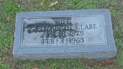 Zeltary Elizabeth <i>Ellis</i> Clare