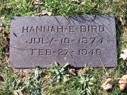 Hannah E. <i>Johnson</i> Bird