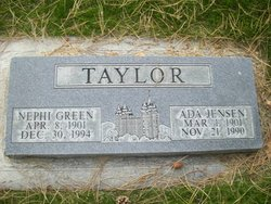 Ada Bodel <i>Jensen</i> Taylor