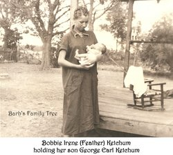 Violet Irene Bobbie Feathers