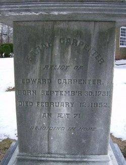 Sarah <i>Stratton</i> Carpenter