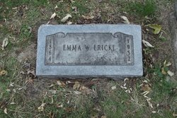 Emma <i>Winterberg</i> Ericke