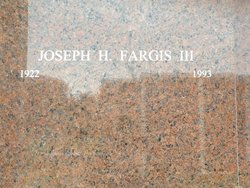 Joseph H. Fargis, III