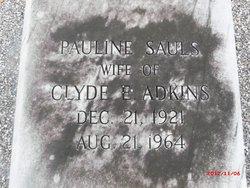 Pauline <i>Sauls</i> Adkins