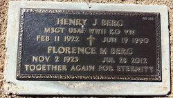 Florence <i>Rooney</i> Berg