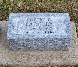 Robert E Badgley