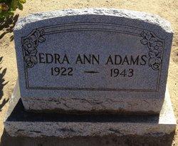 Edra Ann Adams