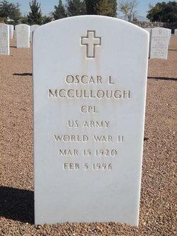 Corp Oscar Lee McCullough, Jr