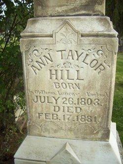 Ann <i>Taylor</i> Hill