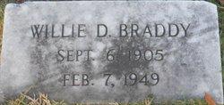 Willie D. Braddy