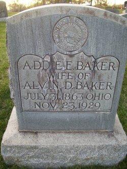Addie E <i>Channell</i> Baker
