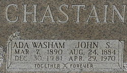 Ada <i>Washam</i> Chastain