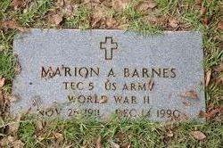 Marion Augustus Gus Barnes