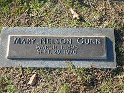 Mary <i>Nelson</i> Gunn