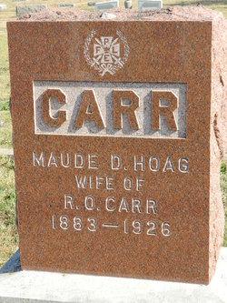 Maude D <i>Hoag</i> Carr