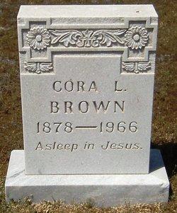 Cora Lou <i>Hunt</i> Brown