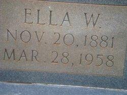 Ella W. Harper