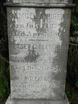 Betsey C. <i>Blatchley</i> Andrews