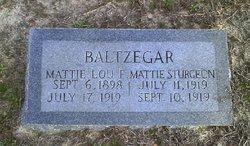 Mattie Sturgeon Baltzegar