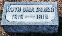 Ruth Oma Boner