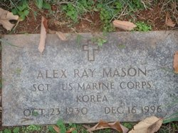 Sgt Alex Ray Mason, Sr