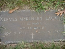 Reeves McKinley Lacy, Jr