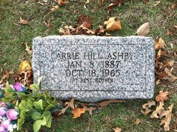 Carrie <i>Hill</i> Ashby