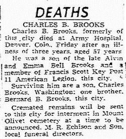Charles Bevridge Brooks