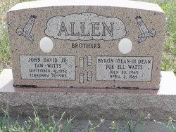 John David Taw - Witts Allen, Jr